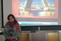 Beseda o stáži v Petrohradu