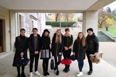 Exkurze semináře dějiny kultury do vily Stiasstni